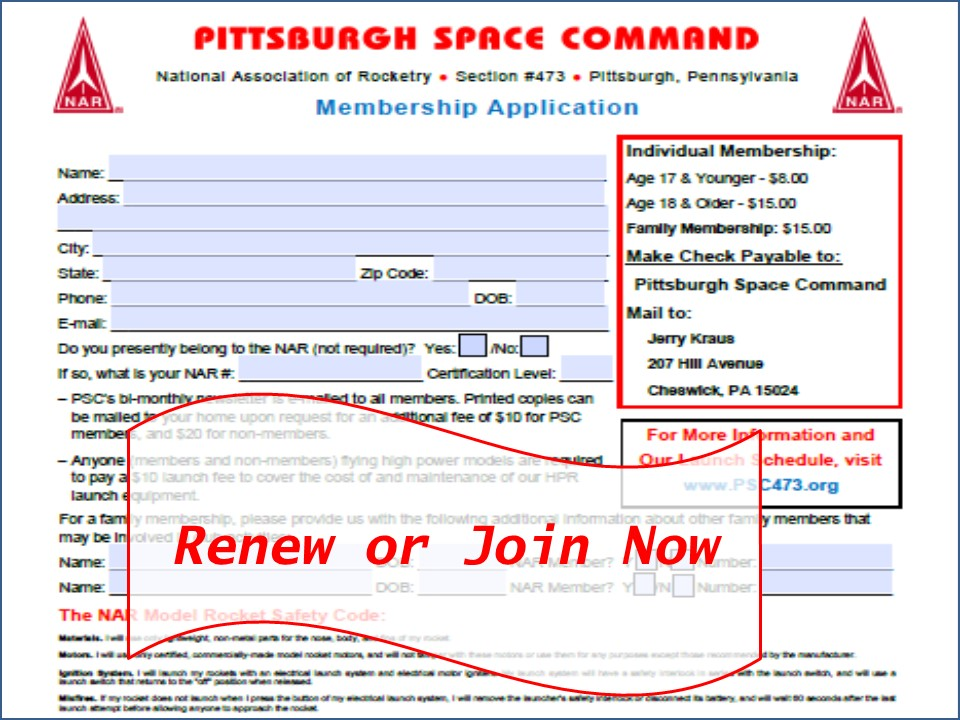 PSC473 - Pittsburgh Space Command