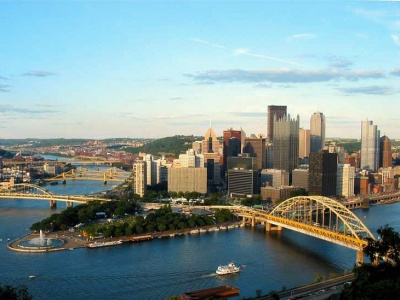 Forget Gold and Black, Pittsburgh is all about Green